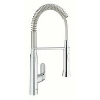 K7 SINGLE HANDLE KITCHEN FAUCET, StarLight Chrome, medium