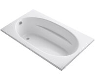 WINDWARD® 72 X 42 INCHES ALCOVE WHIRLPOOL WITH INTEGRAL APRON AND RIGHT-HAND DRAIN, White, medium