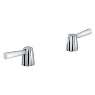 ARDEN LEVER HANDLES, StarLight Chrome, medium