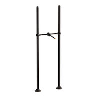 ANTIQUE RISER TUBES AND CROSS CONNECTION, 29-5/8-INCH LONG, Oil-Rubbed Bronze, medium