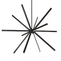 SIRIUS 56-INCH CHANDELIER, Black, medium