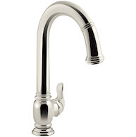 BECKON® TOUCHLESS PULL-DOWN KITCHEN SINK FAUCET, Vibrant Polished Nickel, medium