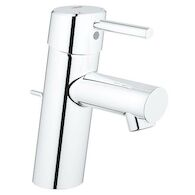 CONCETTO BATHROOM SINK FAUCET WITH WASTE-SET DRAIN ASSEMBLY, StarLight Chrome, medium
