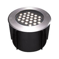 INGROUND 24X1W 3000K LED LIGHT, 32188, Stainless Steel, medium