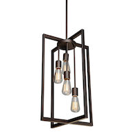 GASTOWN 4-LIGHT CHANDELIER, Oil Rubbed Bronze, medium