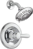LAHARA MONITOR 14 SERIES SHOWER TRIM, Chrome, medium