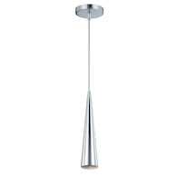 SLIVER 1-LIGHT SMALL PENDANT, Chrome, medium