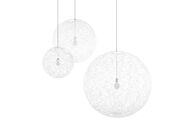 RANDOM LED LIGHT PENDANT, White, medium