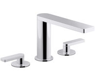 COMPOSED® DECK MOUNT BATH FAUCET WITH LEVER HANDLES, Polished Chrome, medium