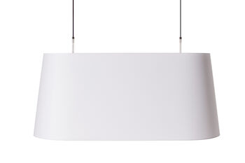 WONDERS OVAL LIGHT SUSPENSION, White, large