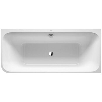 HAPPY D.2 ACRYLIC BATHTUB, White, large