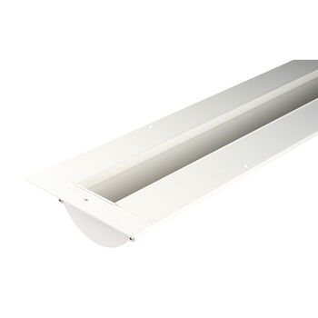 INVISILED 8' INDIRECT RECESSED CHANNEL- LINEAR CHANNEL, White, large