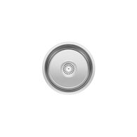 WINCHESTER ROUND DROP IN BAR SINK, Stainless Steel, medium