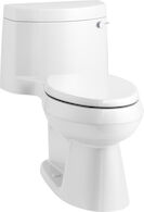 CIMARRON® COMFORT HEIGHT® ONE-PIECE ELONGATED 1.28 GPF TOILET WITH AQUAPISTON® FLUSH TECHNOLOGY AND RIGHT-HAND TRIP LEVER, White, medium