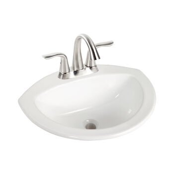 CURTIS 21-INCH SEMI-OVAL DROP IN SINK, , large