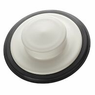 SINK STOPPER, Biscuit, medium