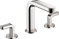 METRIS S WIDESPREAD FAUCET WITH LEVER HANDLES, Chrome, medium