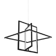 MONDRIAN PENDANT LAMP, Black, medium