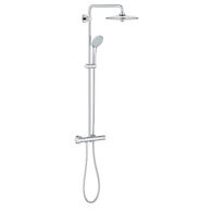 EUPHORIA THERMOSTATIC SHOWER SYSTEM, StarLight Chrome, medium