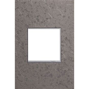 ADORNE 1-GANG HUBBARDTON FORGE® WALL PLATE, Natural Iron, large