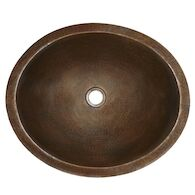 CLASSIC 19-INCH BATHROOM SINK, CPS68, Antique Copper, medium
