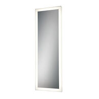21X60-INCH RECTANGULAR EDGELIT MIRROR WITH 3000K LED LIGHT AND TOUCH SENSOR SWITCH, 31487, Silver, medium