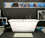 COLLECTION SERIES OPTIK 6636 FREESTANDING BATHTUB, , medium