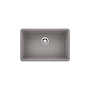 PRECIS UNDERMOUNT SINGLE BOWL SINK U 27, Metallic Grey, small