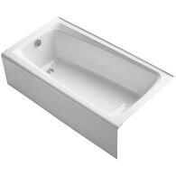 MENDOTA® 60 X 32 INCHES ALCOVE BATHTUB WITH INTEGRAL APRON, White, medium