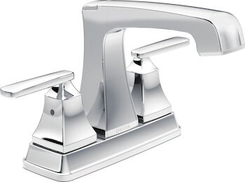 ASHLYN TWO HANDLE CENTERSET LAVATORY FAUCET, Chrome, large
