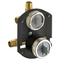 MULTICHOICE® UNIVERSAL INTEGRATED SHOWER DIVERTER ROUGH, , medium