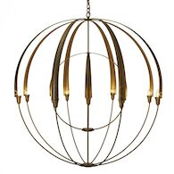 DOUBLE CIRQUE LARGE SCALE CHANDELIER, Dark Smoke, medium