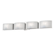 DAKOTA 4-LIGHT LED VANITY LIGHT, Chrome, medium