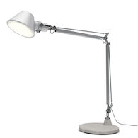 TOLOMEO XXL FLOOR LAMP WITH BASE, Aluminum, medium