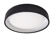 BEACON FLUSH MOUNT, Black, medium
