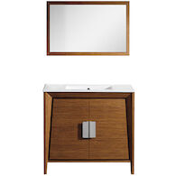 METRIKO VANITY WITH SINK AND MIRROR, 15891, Tiger Wood, medium