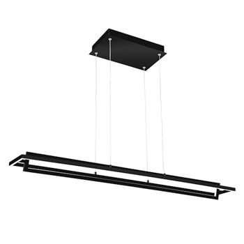MONDRIAN LINEAR PENDANT, Black, large