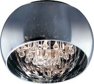 SENSE 5-LIGHT FLUSH MOUNT, Polished Chrome, medium