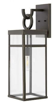 PORTER LARGE WALL MOUNT LANTERN, Oil Rubbed Bronze, large