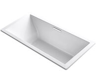 UNDERSCORE® RECTANGLE 72 X 36 INCHES DROP IN BATHTUB, White, medium