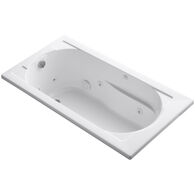 DEVONSHIRE® 60 X 32 INCHES DROP IN WHIRLPOOL WITH REVERSIBLE DRAIN, White, medium
