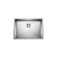 QUATRUS R15 UNDERMOUNT SINGLE BOWL SINK MEDIUM, Stainless Steel, medium