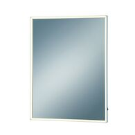 24X32-INCH RECTANGULAR EDGELIT MIRROR WITH 3000K LED LIGHT, 31479, Silver, medium