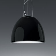 NUR GLOSS 3000K LED PENDANT LIGHT, A2434, Gloss Black, medium