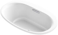 UNDERSCORE® OVAL 60 X 36 INCHES DROP IN BATHTUB, White, medium