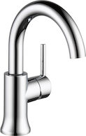 TRINSIC SINGLE HANDLE HIGH-ARC LAVATORY FAUCET, Chrome, medium