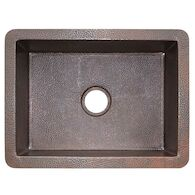 COCINA 24 UNDERMOUNT KITCHEN SINK, Antique Copper, medium
