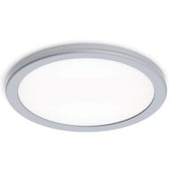 GEOS 10-INCH 3000K LED ROUND FLUSH MOUNT, Titanium, medium