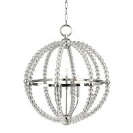 DANVILLE 5-LIGHT CHANDELIER, 3130, Polished Nickel, medium