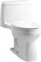 SANTA ROSA™ COMFORT HEIGHT® ONE-PIECE COMPACT ELONGATED 1.28 GPF TOILET WITH AQUAPISTON® FLUSH TECHNOLOGY AND RIGHT-HAND TRIP LEVER, White, small